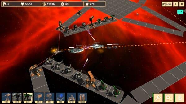 Seditionis Tower Defense gameplay