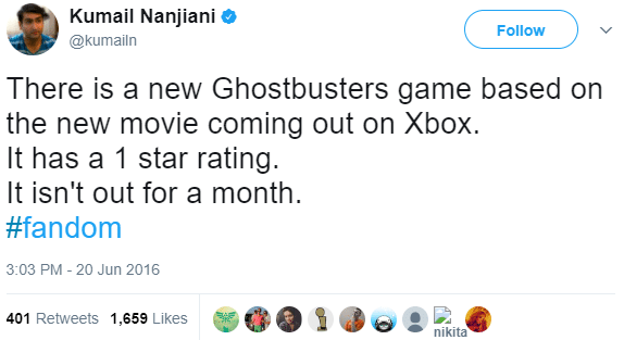 kumail-ghostbusters-game