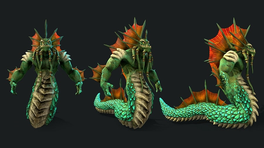 lisandro-pena-world-of-warcraft-naga